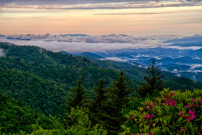 Dawn on Blue Ridge