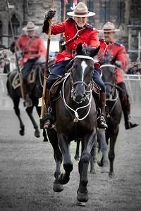 Charging Mounties