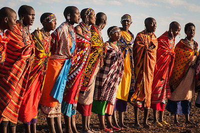 Massai Women Singing