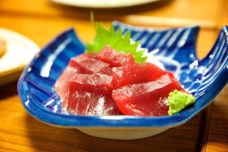 Yes, sashimi for dinner