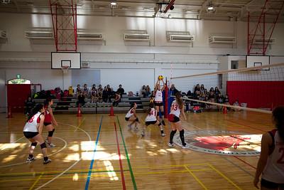 High School Girls Volleyball Oct AISA Tournament