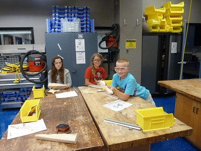 Summer engineering camp in FISD