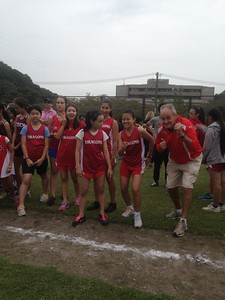 Cross Country meet at Tama Hills