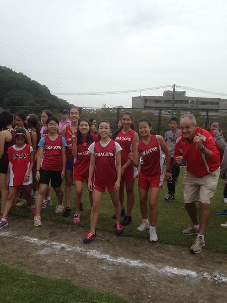 2014-15 Cross Country - Photos @ Yokohama International School