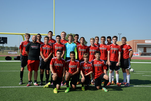 2014-15 Men's Soccer Team