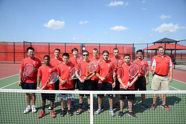 2015 Boy Tennis Team