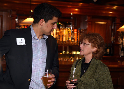 Zack Miller '09 and Janet Storella '74, Trustee