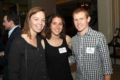 Ingrid Parl '06, Rebecca Haymann '06, and Petey Randall '08
