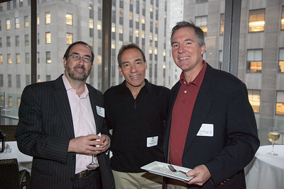 Bill Rome '79, Jon Pressman '79, Thomas Rappleye '75