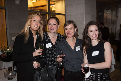 Daisy Beattie '00, Katherine Thorpe Kerr '00, Margaret Shear '00, and Jess Batzell '00