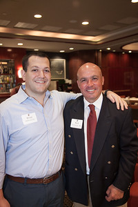 Brian Sullivan '00 with Rick Foresteire '86