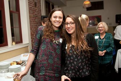 Nicole Johnson '08 and Meredith Bosco '08