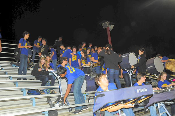 24 Oct 2014 Pep Band PC West