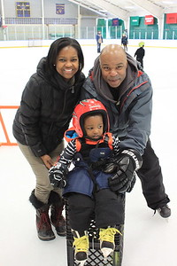 Judy and David Williams '78 with their son, Noah