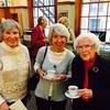 Betsy Worrrell Hamilton '55, Carol Johanson Lundin '55, and Eileen McGrath