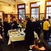 Reception following the Memorial Service in the Elwood E.  Leonard Library