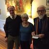 Sean McKenna, Connie Worthington '62 and David Ransome