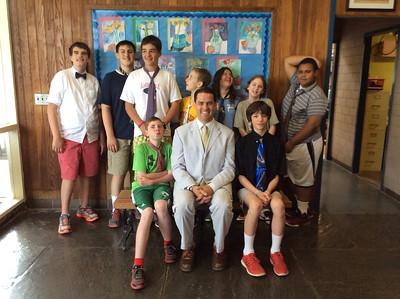 Mr. Raine Tie Day