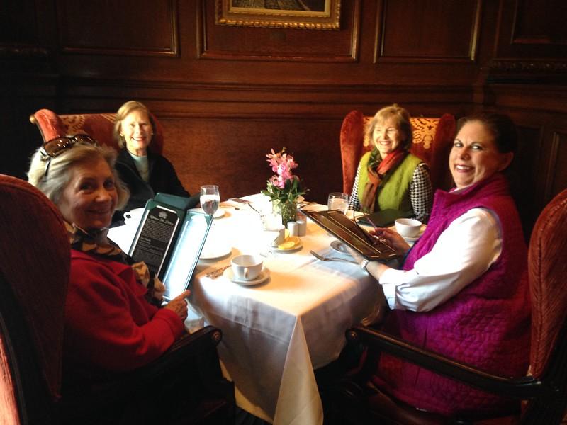 Tea at Dupont Hotel