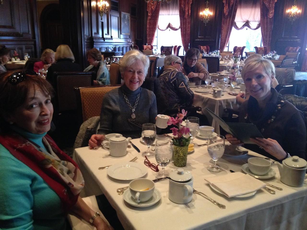 Tea at the Dupont Hotel