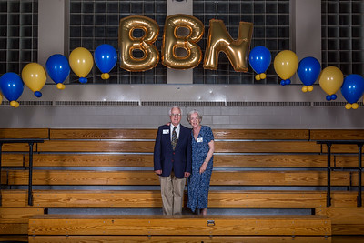Buckingham and Browne and Nichols alumni/ae Tom '56 and Ellen (Smith) '56 Giblin