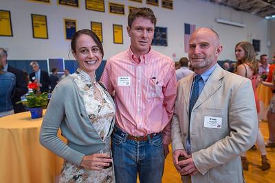 Mary and Tom '00 McManmon with Tom Randall, US Math