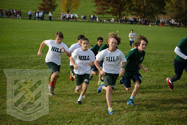 The Hill School Cross Country Meet