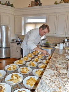 """Forest Garden Club's meeting with Chef Eric Kirkeeng """"Cooking with Herbs"""""""