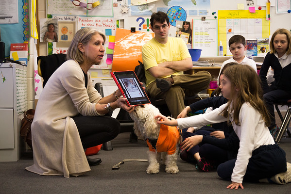 Founder of Dogly App, Jane Turner, Visits 3rd Grade
