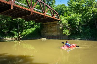 2014.6.15 - Kayaking on Ohio Brush Creek