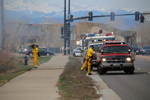 Orchard & Buckley Brush Fire 3-30-14