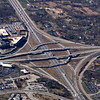 I-270 (top to bottom) and I-64 (left to right) with Missouri Baptist Medical Center upper left.