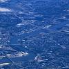 Downtown Toledo, left center