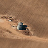 Grain bins, Northwest Mississippi