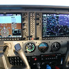 My instrument panel, Garmin G-1000.  Originally complicated to learn, but full of valuable information.  Now, I wouldn't want to fly without it.