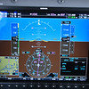 Climbing out of Fergus Falls, headed for Sturgeon Bay. Maintaining 145 knots true airspeed while climbing through 13,900' at 500 fpm, headed for 19,000' to catch a nice tailwind.