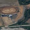 A dirt racetrack Northeast of Atchison, Kansas