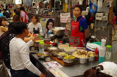 authentic Korean Food Court