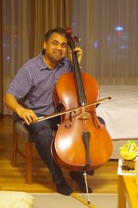 Anurag at my Bday Party
