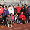 Group picture at the early morning track session