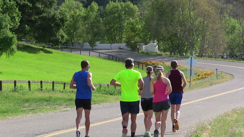The start of the Refugio run