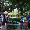 Pre-ride gathering