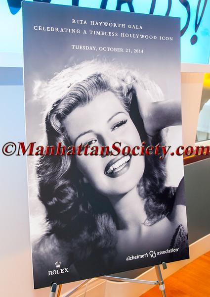 Alzheimer's Association Hosts Rita Hayworth Gala New York Cocktail Reception 2014
