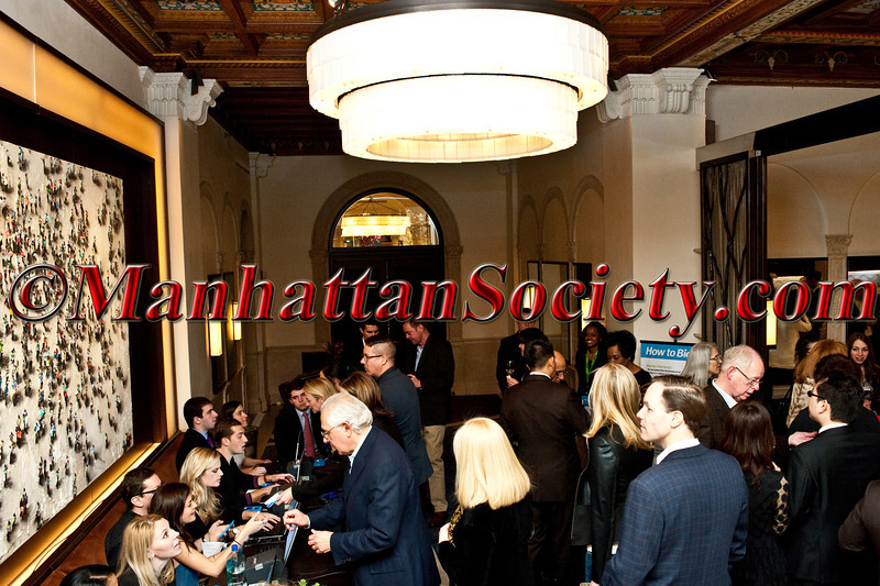"CHEF DANIEL BOULUD'S Annual Sunday Supper: ""Burgundy, Black Truffles and Blue Jeans""  To Benefit CITYMEALS-ON-WHEELS on Sunday, March 9, 2014 at DANIEL, 60 East 65th Street on the Upper East Side of Manhattan, New York City 10065 (Photo Credit: ManhattanSociety.com by Christopher London)"