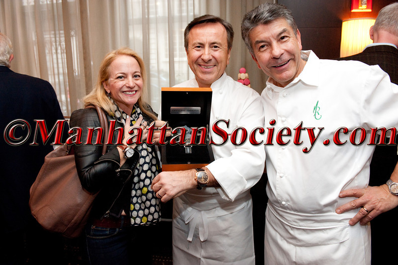 """CHEF DANIEL BOULUD'S Annual Sunday Supper: """"Burgundy, Black Truffles and Blue Jeans""""  To Benefit CITYMEALS-ON-WHEELS on Sunday, March 9, 2014 at DANIEL, 60 East 65th Street on the Upper East Side of Manhattan, New York City 10065 (Photo Credit: ManhattanSociety.com by Christopher London)"""