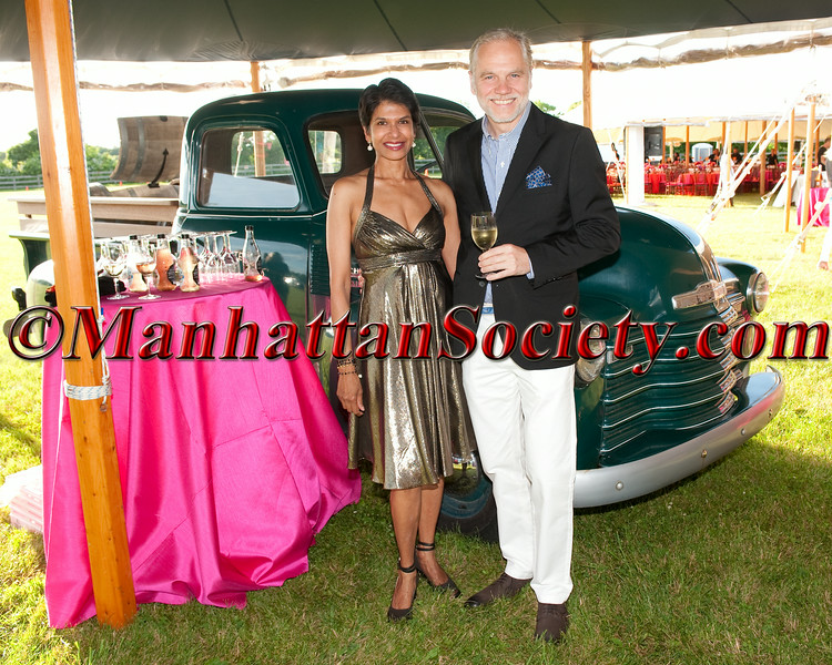 """Dushi Roth, Roman Roth attend Group For The East End 2014 Summer Benefit: """"Here Comes the Sun"""" on Saturday, June 21, 2014 at Wolffer Estate Vineyard in Sagaponack, Long Island"""