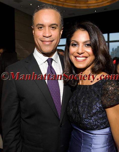 CBS 2 Anchor Maurice DuBois and wife Andrea