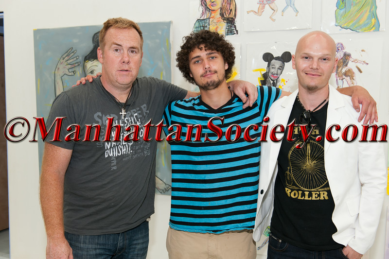 Artists, William Quigley, Alexander George McCue,  Ben Moon