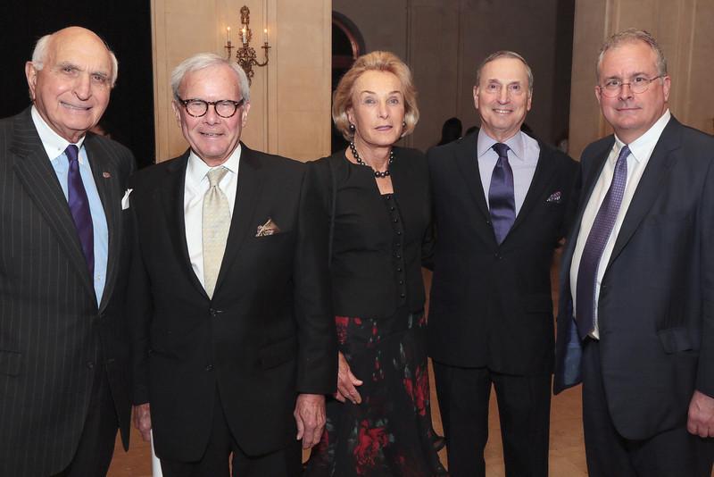 Ken Langone, Tom Brokaw, Elaine Langone, Robert I  Grossman, MD, deanand