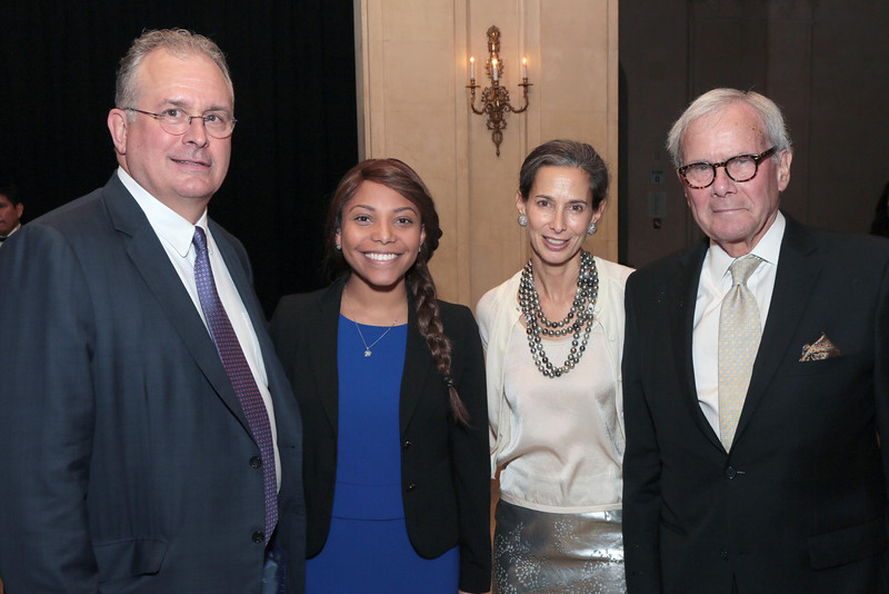 J  Thomas Roland, Jr , MD, patient Mariella Paulino, Alice Tisch, Tom Br